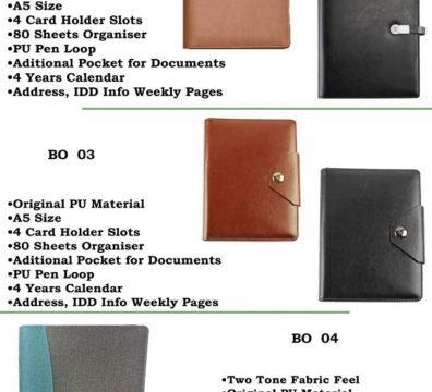 Customized Diaries