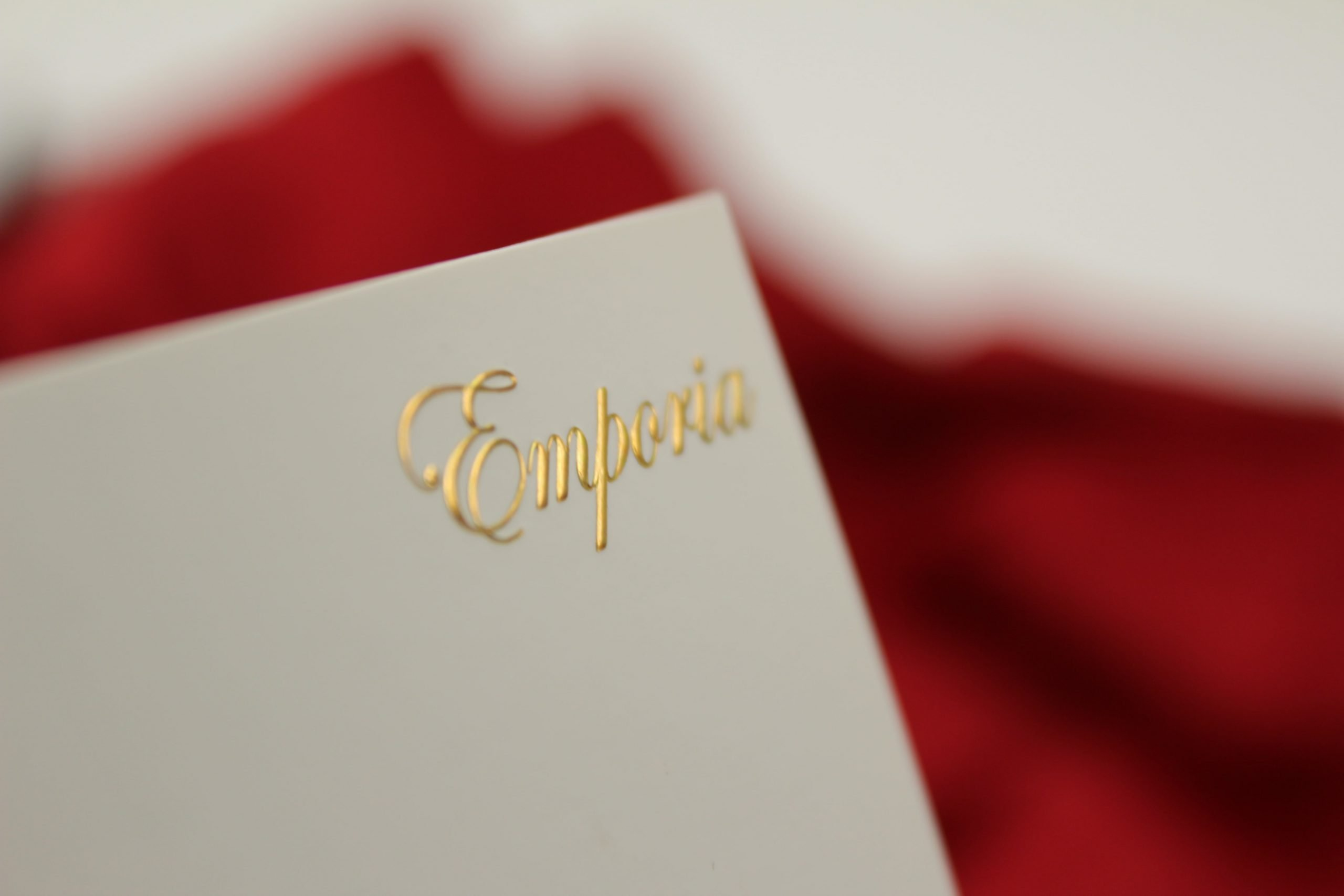 Embossing in Business Card