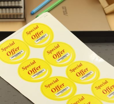 Offset Printing - Stickers