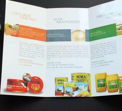 Digital Printing Tri-fold Brochure